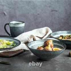 Retro Ceramic Tableware Western Steak Large Plate Soup Bowl Salad Plates Vintage