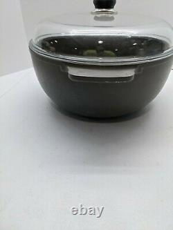 Scanpan 2001+ 10 QT. Dutch Oven / Stockpot with Pyrex Lid Made in Denmark