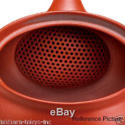 Tokoname Pottery Kyusu Teaset HAKUZAN 1pot, 1bowl, 5yunomi cups w wooden box