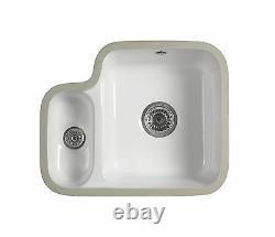 Undermount 1.5 bowl Ceramic sink