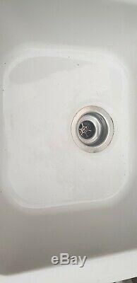 VILLEROY & BOCH Condor 60 1.5 Bowl White Ceramic Kitchen Sink