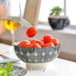 Vancasso 32pcs Japanese Porcelain Crockery Dinnerware Set Dinner Plate Bowl Mugs