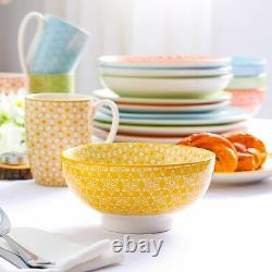 Vancasso 40 Natsuki Dinner Set Japanese Vintage Crockery Plates Bowl Coffee Mugs