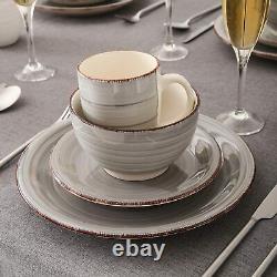 Vancasso Bella 32 Porcelain Dinnerware Set Crockery Dinner Dessert Plates Bowls