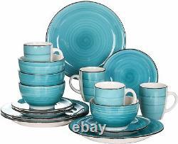 Vancasso Bella Dinner Set Kitchen Porcelain Ceramic Dessert Soup Plate Bowl Mug