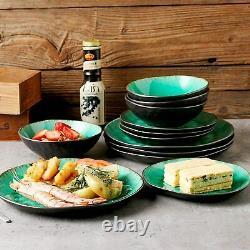 Vancasso Coco 23pcs Stoneware Dinner Set Kitchen Dessert Plates Bowls Saucers UK