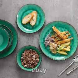 Vancasso Coco Stoneware Vintage Tableware Set Porclain Dinner Dining Plate Bowls
