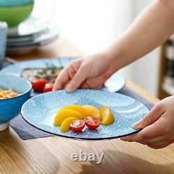 Vancasso Macaron 32pcs Multi-Colour Crockery Dinner Set Ceramic Plate Bowls Mugs