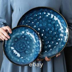 Vancasso Starry 24X Porcelain Stoneware Set Glaze Dinner Dessert/Side Plate Bowl