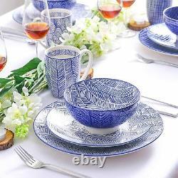 Vancasso TAKAKI 32pcs Kitchen Dinnerware Set Dinner Plates Side Plate Bowls Mugs