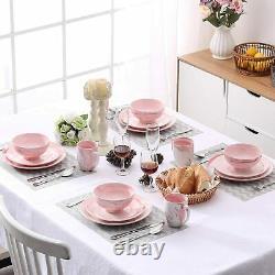 Vancasso Vintage Tableware Set Porcelain Kitchen Serving Dinner Plate Bowls Mugs