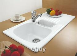 Villeroy And Boch Medici 1.5 Bowl Sink White 2nd19254