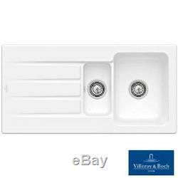 Villeroy & Boch Architectura 60XR 1.5 Bowl White Ceramic Kitchen Sink NO WASTE
