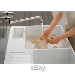 Villeroy & Boch Butler 90 2.0 Bowl White Ceramic Kitchen Sink & Waste