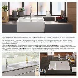 Villeroy & Boch Lagorpure 45 1.0 Bowl White Ceramic Kitchen Sink NO WASTE